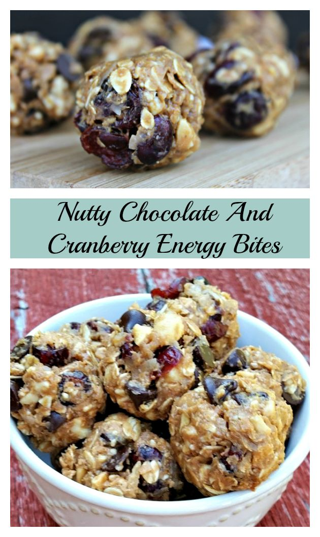 Are you looking for a kid friendly snack that is as healthy as it is delicious? Try this Nutty Chocolate And Cranberry Energy Bites recipe!