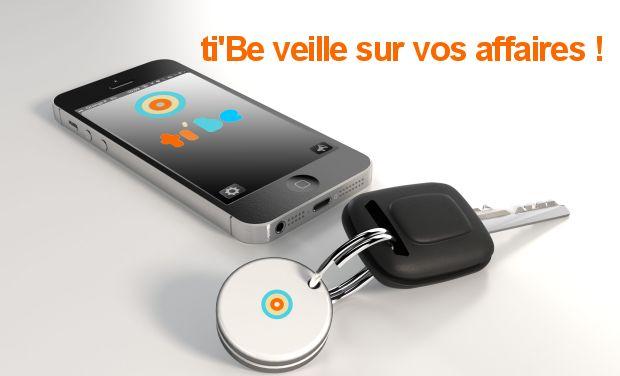 ti'Be - Un porte-clé Bluetooth basse consommation pour ne plus perdre ses affaires