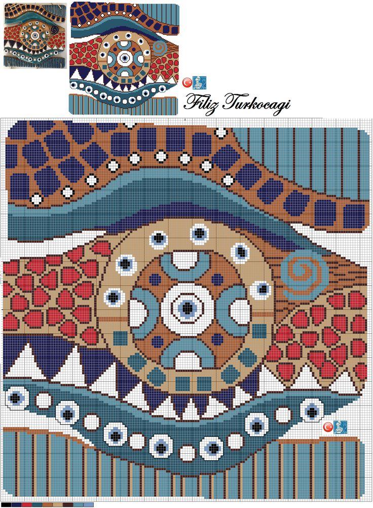 En sevdiğim sanat dallarından biridir seramik :)) Patika Seramik Atölyesi çalıştı...Designed by Filiz Türkocağı ( Turkish Evil Eye )