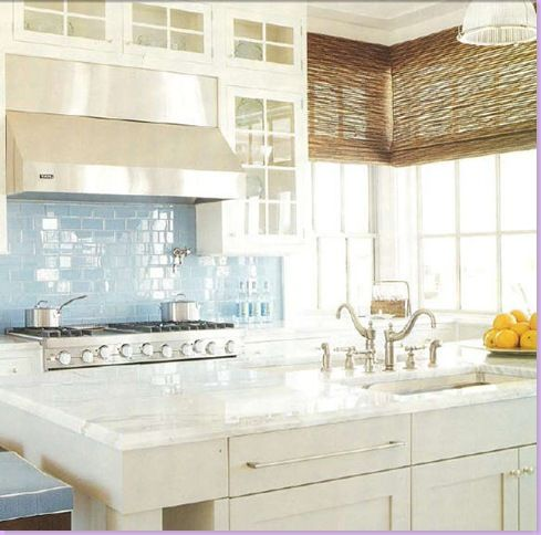 Kitchen Tiles Blue 767 best blue and white kitchens images on pinterest | white
