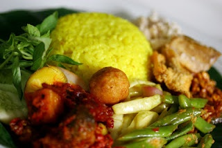 Yellow Rice [Nasi Kuning]