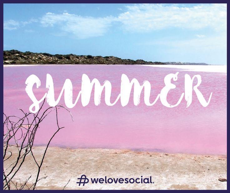 Welcome Summer! ☀ 