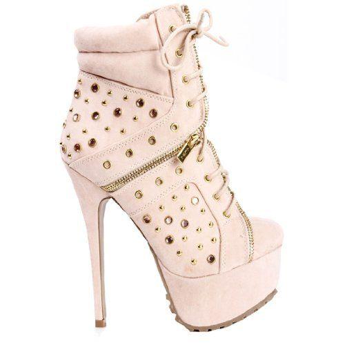 Damen Nude modische Ankle Bootie Halbstiefel Stiefeletten new Fashion Fashion Season, http://www.amazon.de/dp/B00HJJQFAY/ref=cm_sw_r_pi_dp_aRzftb0Q5SBSP