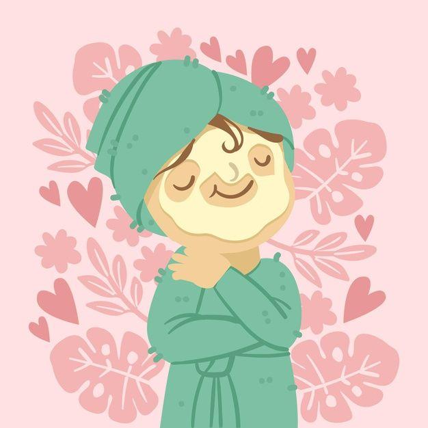 Ilustración del concepto de autocuidado   Free Vector #Freepik #freevector #amor Princess Peach, Disney Princess, Cinderella, Disney Characters, Fictional Characters, Vector Freepik, Board, Happy Girls, Page Design