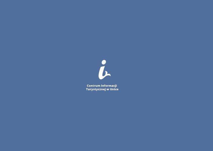 logo Centrum Informacji Turystycznej w Ustce wykonane przez Grzegorza Myćkę, www.ustka.travel
