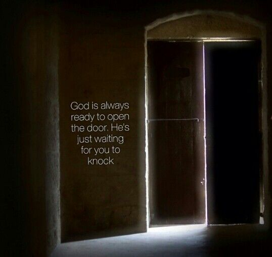 Just knock
