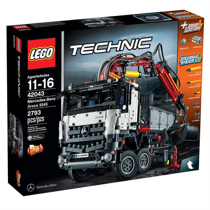 LEGO Technic Mercedes-Benz Arocs 3245 Complete Toy Set 42043  BRAND NEW