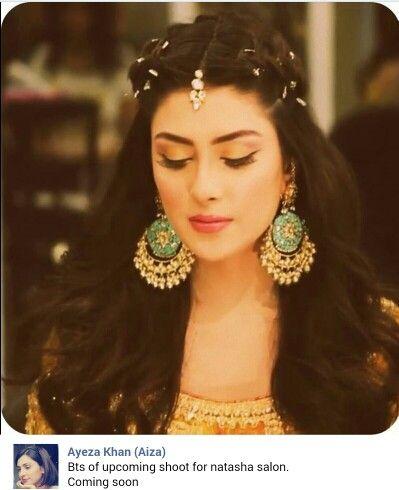 Ayeza khan for Natasha salon