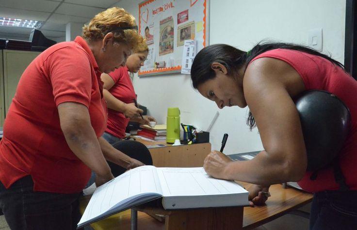 Registro Civil ha atendido a unas 41 mil 90 personas en el primer semestre