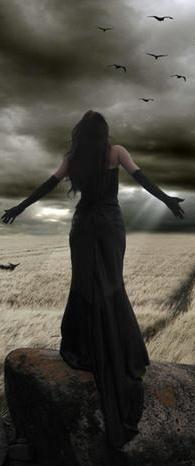 gothic art • The Morrigan • Crows • Ravens • War • Help • Rebirth • Death • Change ....