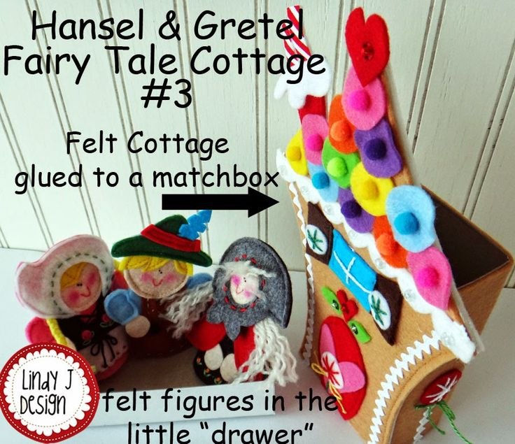 My newest series for   LindyJ Design at Etsy.....   Fairy Tale Matchbox Cottages .        They were so fun to make and turned out really ...