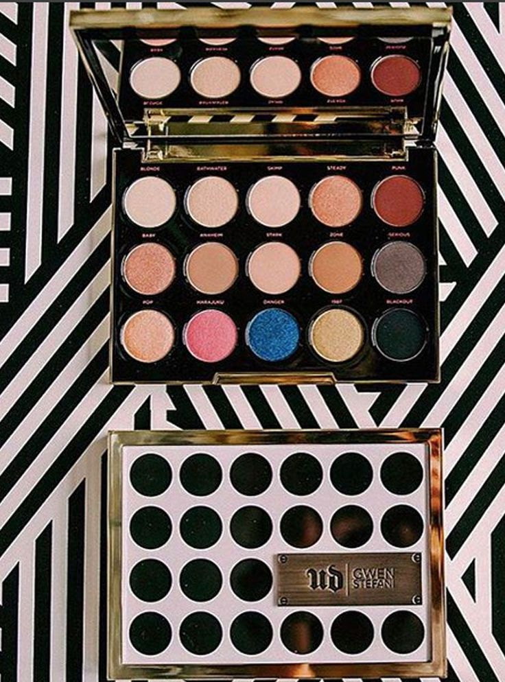 Gwen Stefani Made An Urban Decay Palette, Proving Dreams Do Come True #refinery29