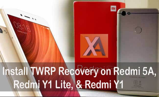 TWRP Recovery for Redmi 5A Redmi Y1 Lite | Xiaomi | Recovery, Notes