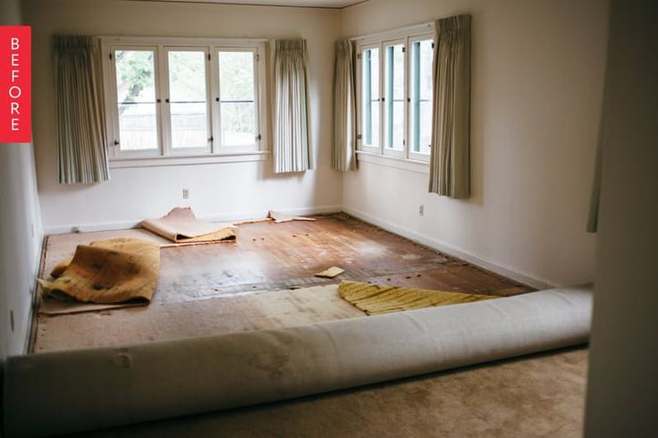 Before & After: A Long Narrow Room Becomes A Shared Solution