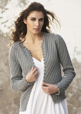 Strik cardigan - grå elegance | Familie Journal