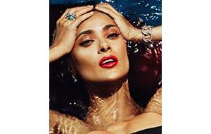 Salma Hayek is the new face of Pomellato.  See collections at http://www.osterjewelers.com/jewelry.html?designer=801