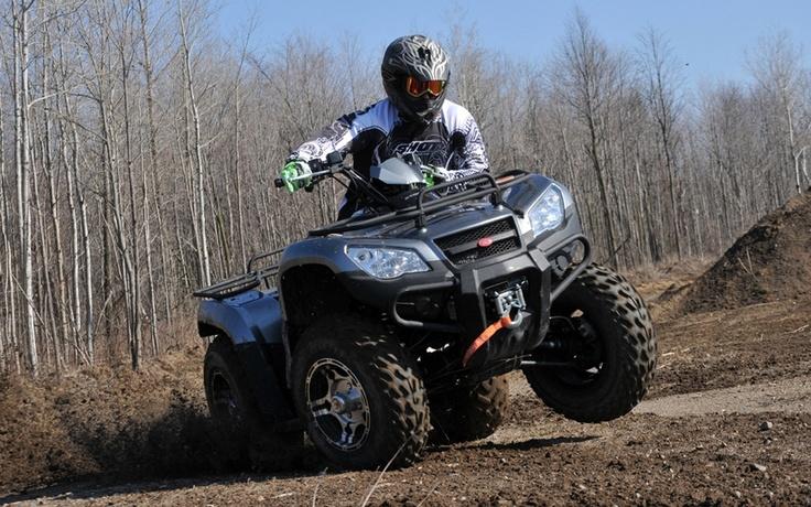 2012 KYMCO MXU 450i - Test Drives - 2012 Kymco MXU - ATV Trail Rider