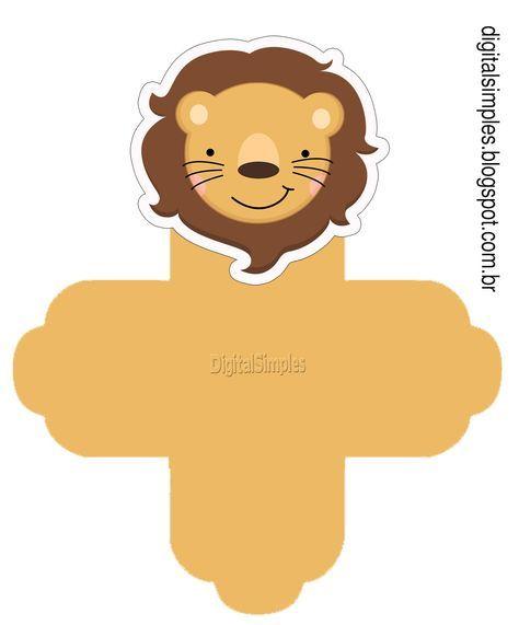 "Kit Digital de Aniversário Tema ""Safari"" para Imprimir - Convites Digitais Simples"