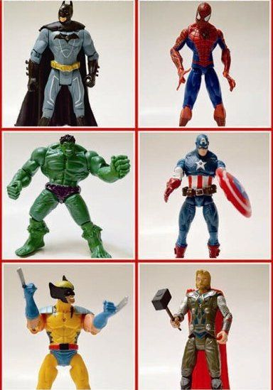 Action Figure Super Heroes edisi November 2014