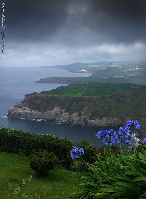 Love those clouds on Miradouro de Santa Iria, São Miguel Island, Azores