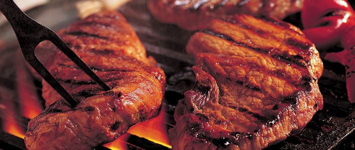 This is a fantastic way to add a southwestern flare to aporterhouse steak. With a quick sear on the grill, the chipotle paste is locked in ...