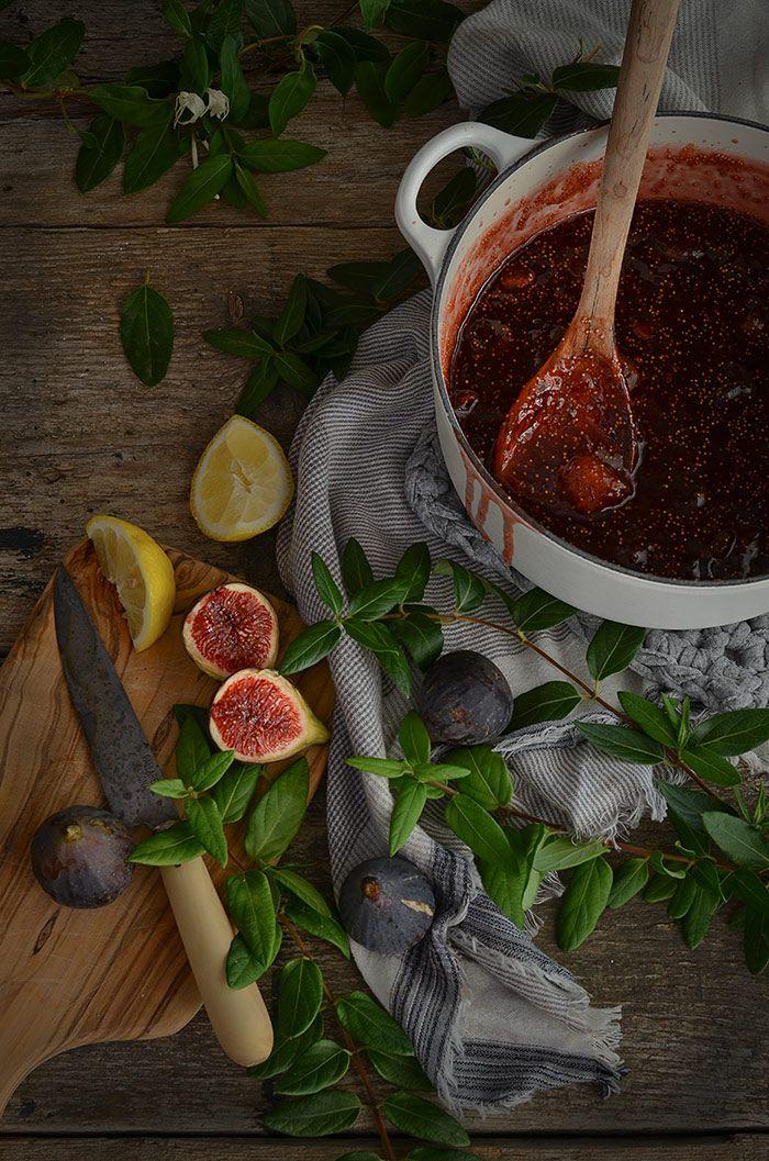Mermelada casera de higos {Receta fin de verano} | Homemade fig jam http://saboresymomentos.es