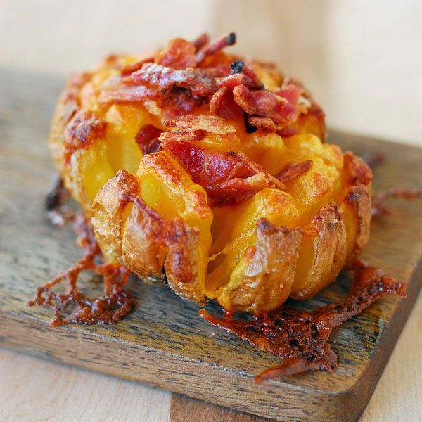 Bloomin' Baked Potatoescountryliving