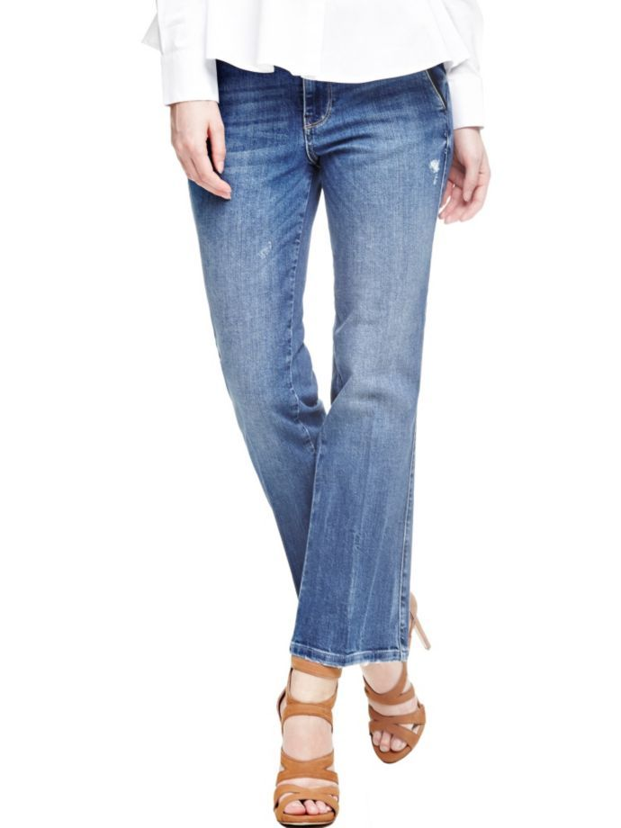 EUR119.90$  Buy here - http://viekp.justgood.pw/vig/item.php?t=fhqdxeo55611 - BELL-BOTTOM JEANS WITH BELT EUR119.90$