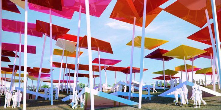 IL PADIGLIONE DEL MESSICO DI SLOT PER SHANGHAI EXPO 2010