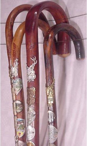 Dragonfly Designs Store - Antique Black Forest Walking Sticks, $115.00 (http://www.dragonflytahoe.com/antique-black-forest-walking-sticks/)