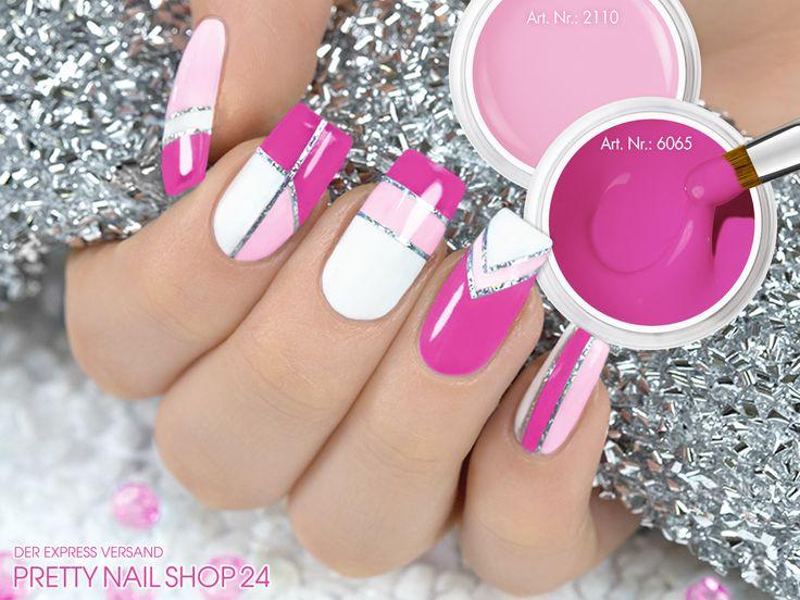 #nails #nailart #pns24 #trend Bringt den Scandinavian Style auf Eure Nägel! Nehmt Euch Eure Lieblingsfarben und trennt sie durch die Jolifin Pinstripes silber (Art. Nr.: 2477). Wie kombiniert Ihr? Eure Annika