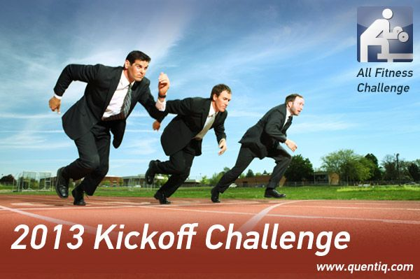 Have you already set your personal resolutions for 2013? Sign up now for the 2013 Kickoff Public Challenge organized by QUENTIQ. The first five winners will receive great and attractive prizes!