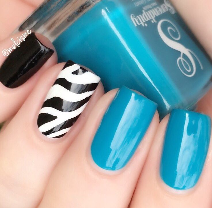 African Safari, here we come! Rock that animal print wherever you go with our Zebra Nail Stencils; use black and white polish or get a little bit more creative! Insides are included with each Zebra Na
