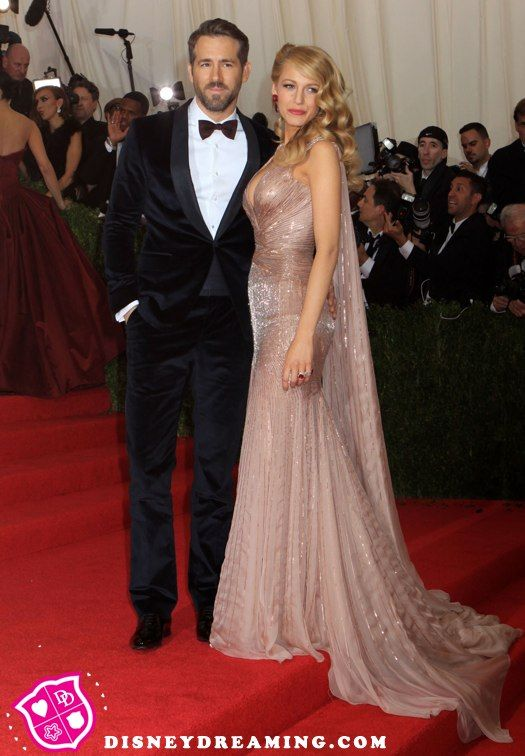 Blake Lively and Ryan Reynolds go Old Hollywood Glam!
