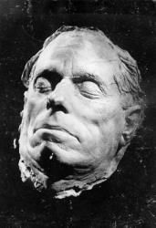 This is the death mask of Max Reinhardt.