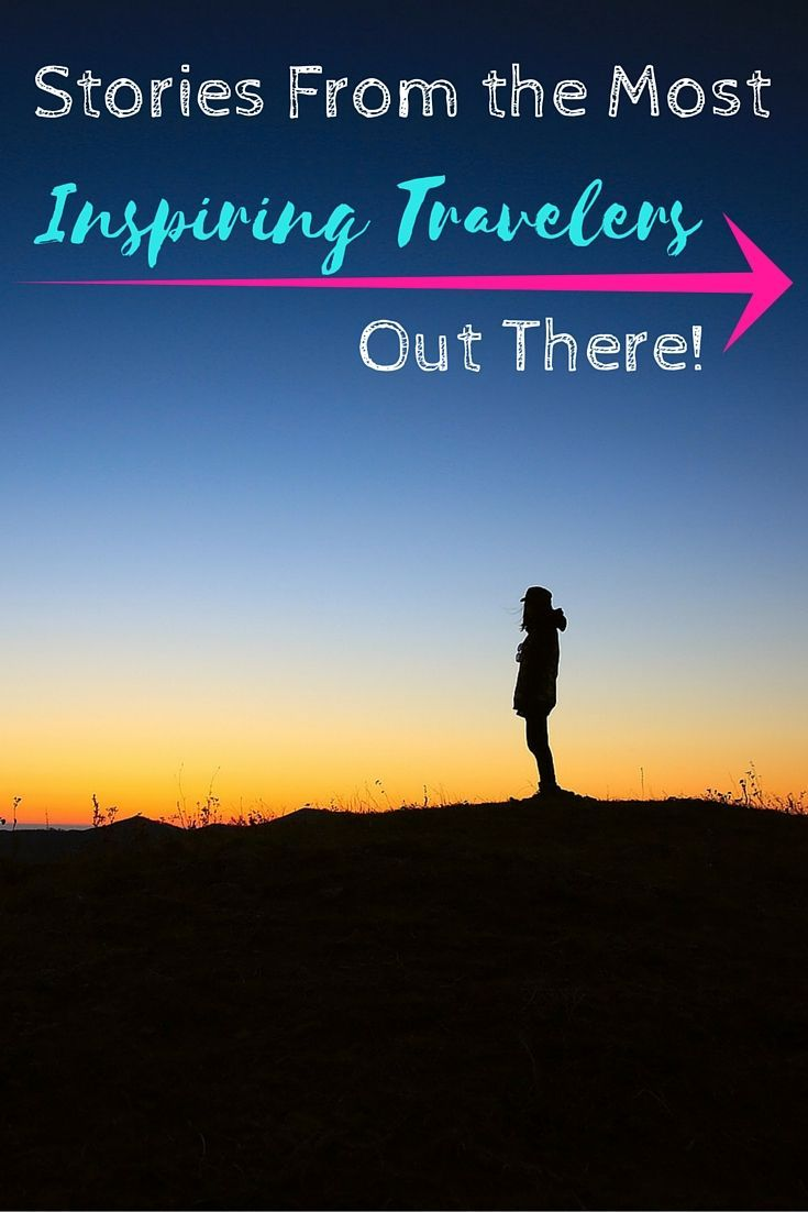 Don't know how you can travel? Read these stories! There's a way to travel for everyone :)