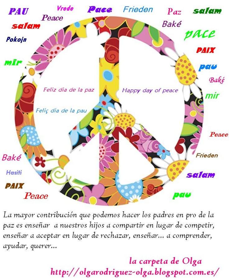 La carpeta de Olga: Dia de la Paz