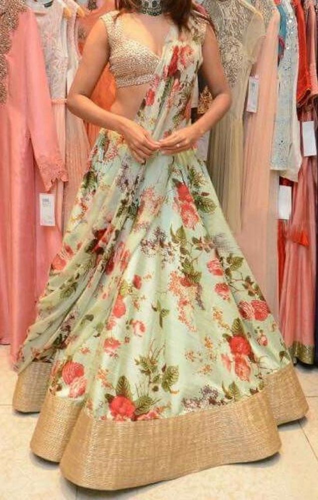 FatimaBi Indian Wedding Dress Partywear Choli Lehenga Saree Plus size Dresses #FatimaBi #LehegaCholi