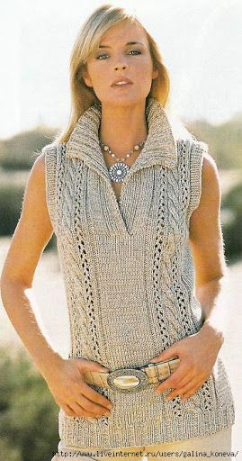 Пуловерчета, без ръкави... - Perunika Knitting - Álbumes web de Picasa