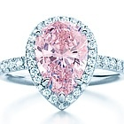 Diamonds are a girls best friend...especially PINK ones