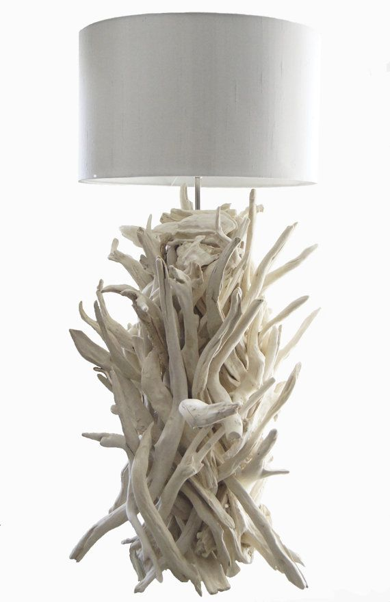 Coastal Living Driftwood lamp
