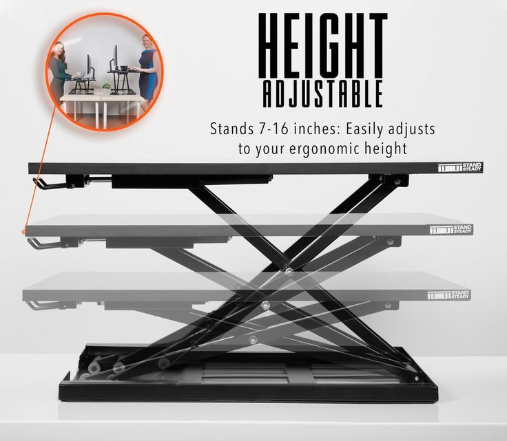 X-Elite Pro sit stand Standing Desk by Stand Steady, height adjustable desk, stand up desk