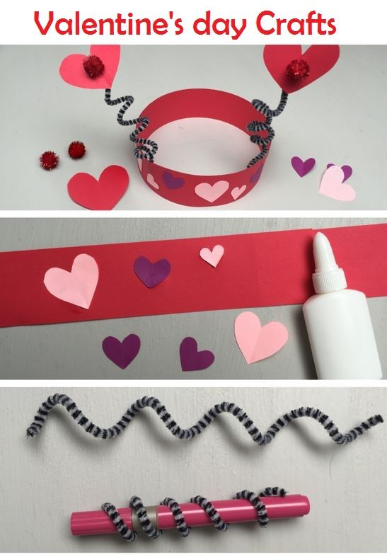Easy Valentine S Day Craft For Toddlers And Kids Valentine S Day