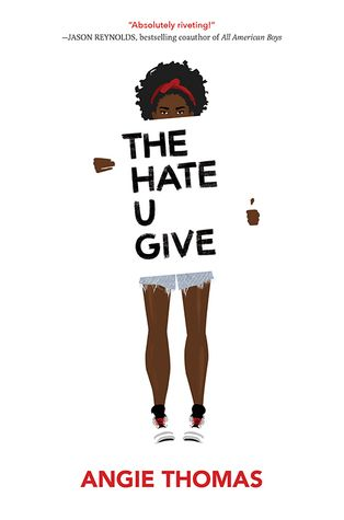 """""""The hate u give"""", by Angie Thomas - After witnessing her friend's death at the hands of a police officer, Starr Carter's life is complicated when the police and a local drug lord try to intimidate her in an effort to learn what happened the night Kahlil died."""