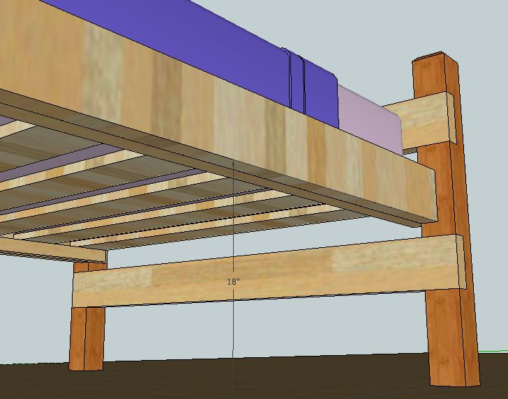 Best 9 Best Images About Bed Frame On Pinterest Simple Full Bed Frame And Woodworking Plans 400 x 300
