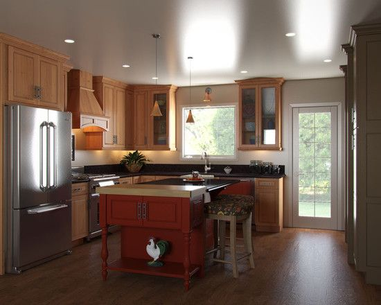 Small L Shaped Kitchens Design, Pictures, Remodel, Decor And Ideas Part 97
