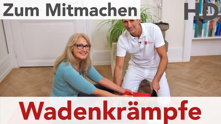 Wadenkrämpfe // Ursachen, Faszienrolle und Übungen gegen Wadenkrämpfe, F...