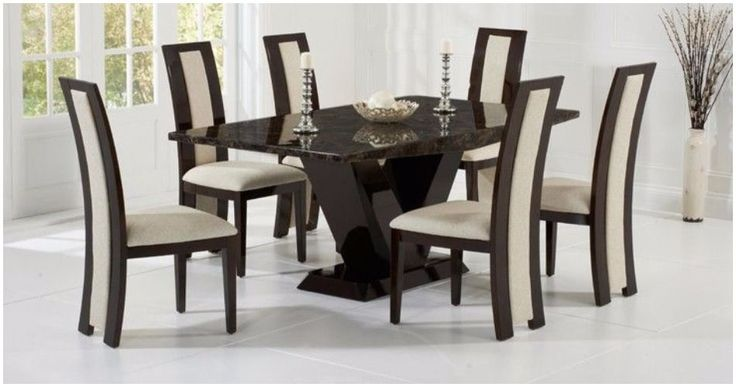 Gorgeous #Marble #Dining #Table #Sets Exquisite quality and beautiful designs All Reduced in our #Summer #Sale   SHOP HERE >https://www.uniquechicfurniture.co.uk/marble-furniture-893-c.asp