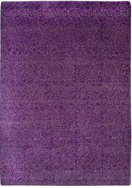 Blossom: handknotted carpet. Handspun blended wools: 50% sheradian   30% ghazny   20% newzealand