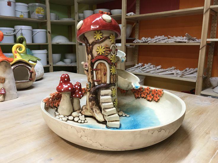 Keramikbrunnen# Katzenbrunnen#Zimmerbrunnen